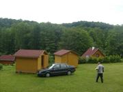 chatky v areálu Lanžov